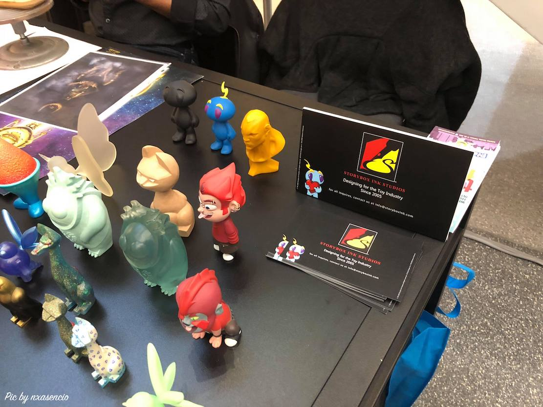 eric nocella diaz of argonaut resins new york toy fair 2018