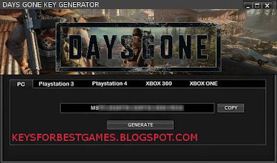 Days Gone Cd-key Serial Generator Pc Download Google