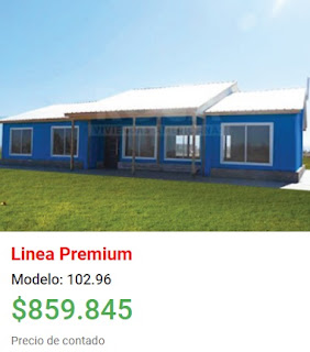Viviendas Roca precios 2018 linea premium modelo 102 96