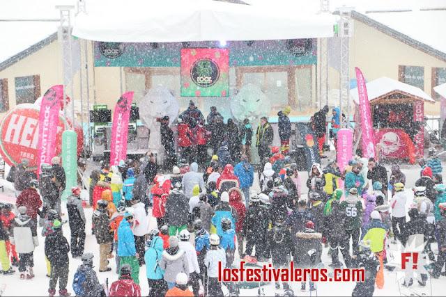 Snowattack 2019, electrónica en la nieve