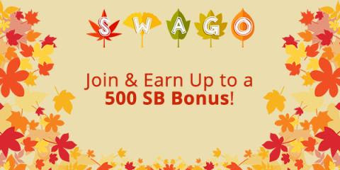 September Swago Board Play and Earn Swagbucks