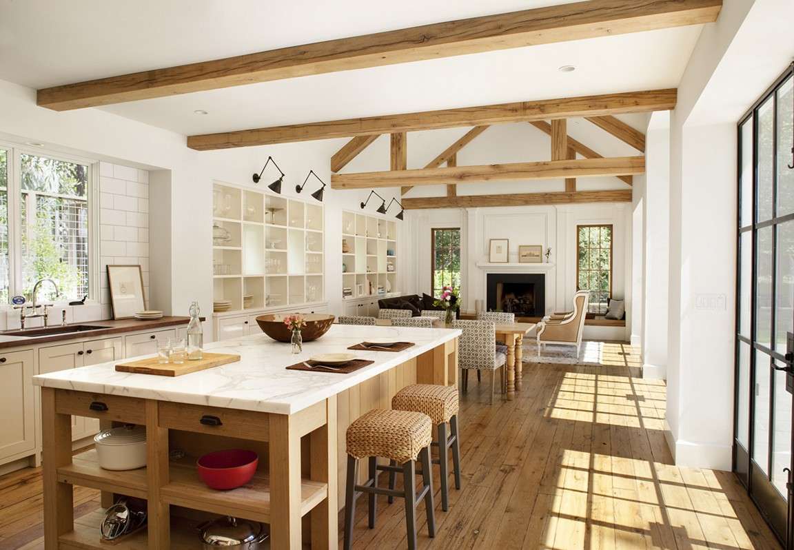 Decor inspiration 42 modern farmhouse kitchens part 2 for Inspired kitchen design