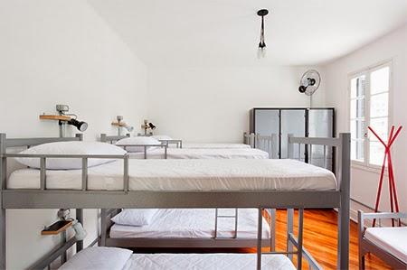quarto comunitário, beliche, decoração, decoracao, quarto compartilhado, hostel