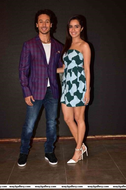 Tiger Shroff and Shraddha Kapoor unveiled the Baaghi song Get Ready To Fight