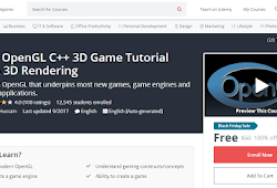 Modern OpenGL C++ 3D Game Tutorial Series-UDEMY FREE COUPON