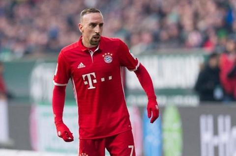 Vài năm nay, Franck Ribery cũng liên tục dính chấn thương.