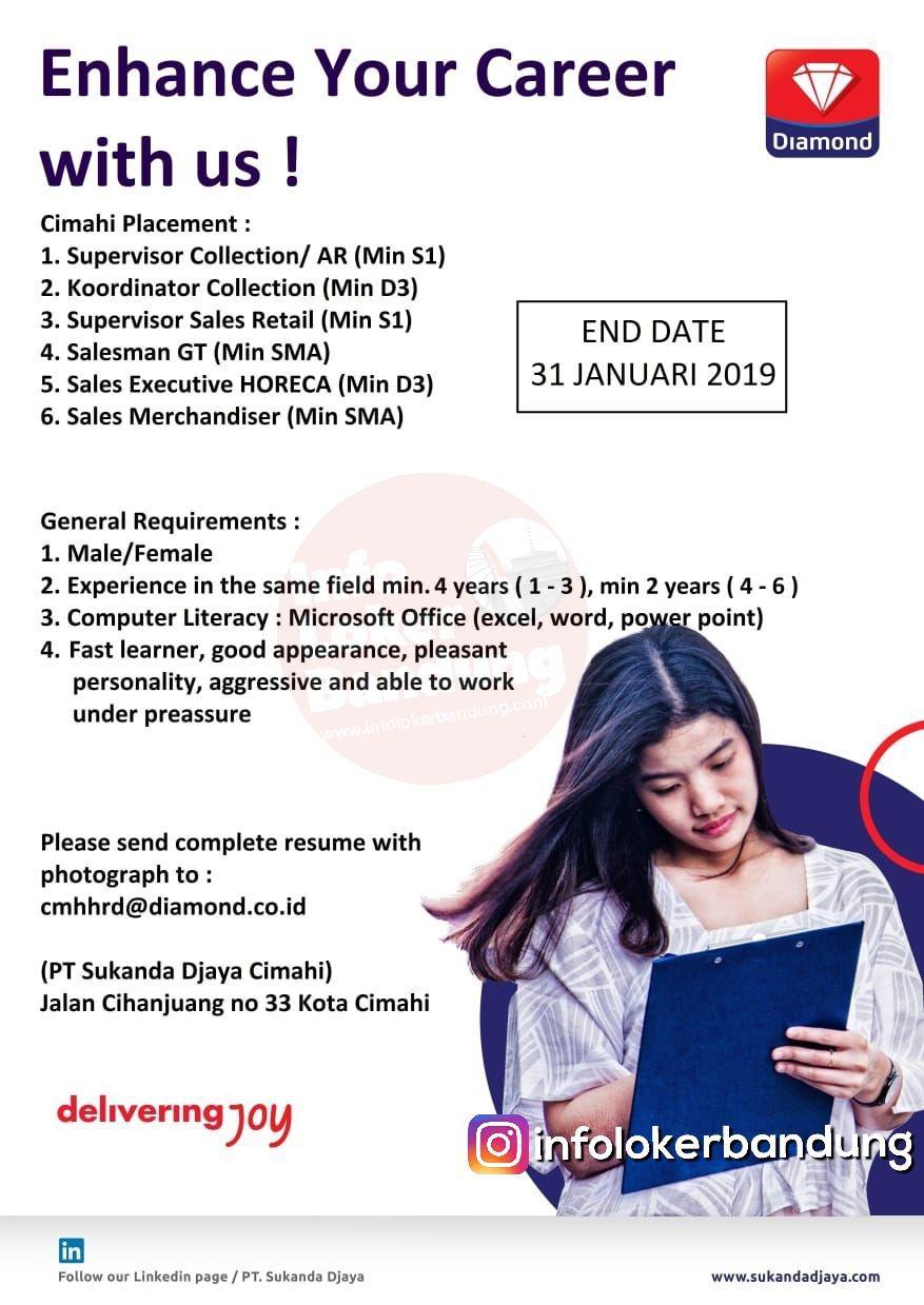 Lowongan Kerja PT. Sukanda Djaya Cimahi Januari 2019