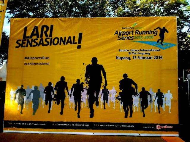Sensasi Lari Sensasional di Bandara El Tari, Kupang