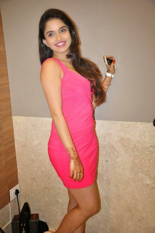 Sheena Shahabadi Hot In Tight Mini Dress