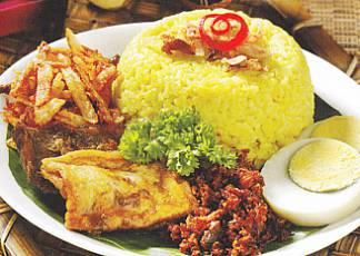 Resep Nasi Kuning bisa bunda baca di butania.com