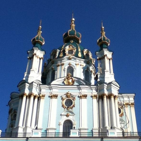 St Andrews Church, Kiev, Ukraine
