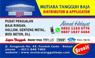 Distributor Genteng Metal Pasir Per Meter