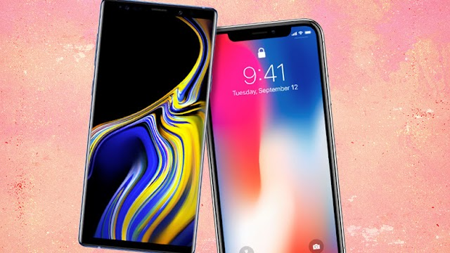 More People Looking Forward To 2018 iPhones Rather Than Samsung's New Galaxy Note 9 Smartphones