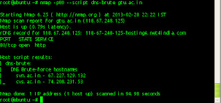 nmap-as-information-gather