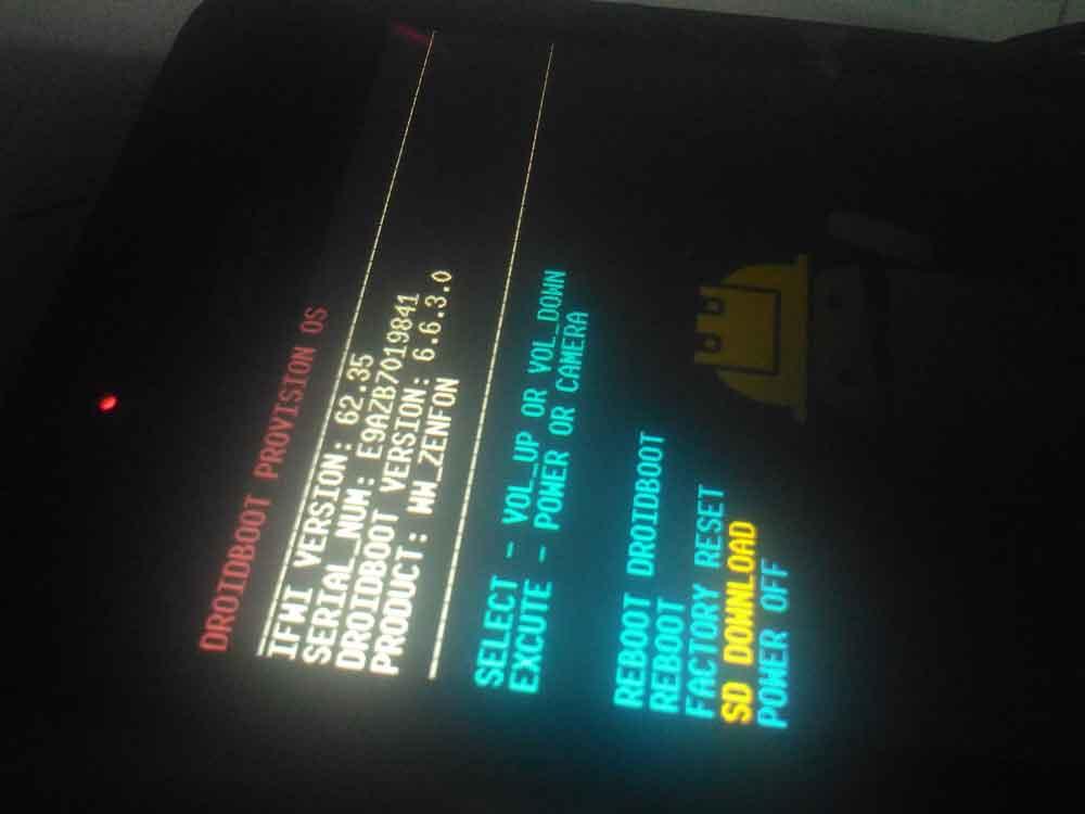 Cara Flash Asus Zenfone 4 T001 dengan Mudah Tanpa PC ...