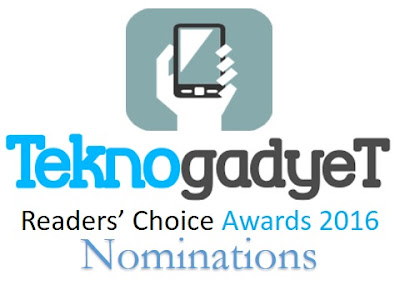 TeknoGadyet Readers' Choice Awards 2016 Nominations