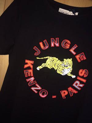 Kenzo X H&M Black Embellished T-Shirt