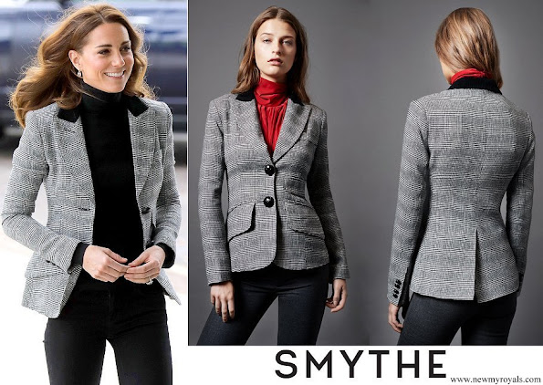 Kate Middleton wore a 2 Button Blazer by Smythe