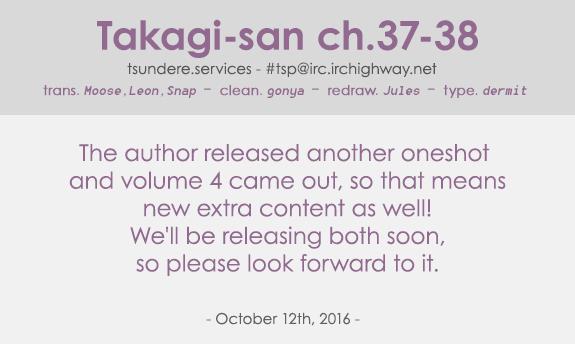 Karakai Jouzu no Takagi-san - Chapter 50