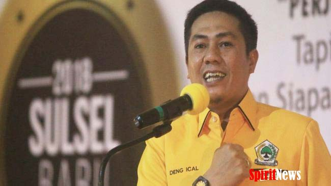 Deng Ical, Golkar Sulsel Yakini 5 Dapil Mampu Tambah Kursi di Parlemen Sulsel