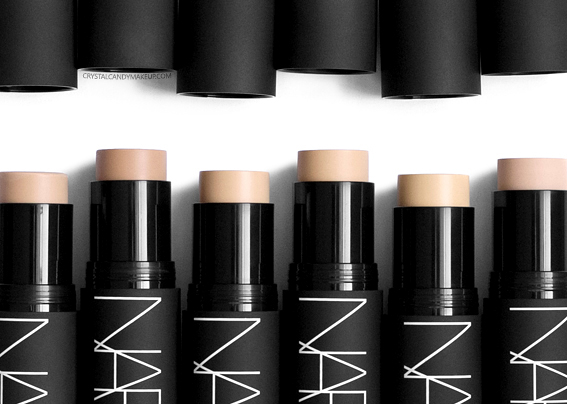 NARS Velvet Matte Foundation Sticks Review Photos