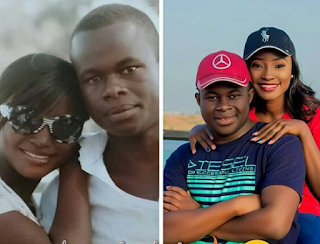 Photos: Few days to their wedding, Nigerian couple who dated for 9 years share before and after photos chronicling their amazing transformation