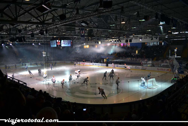 Olympia-Eissportzentrum de Múnich - Red Bull
