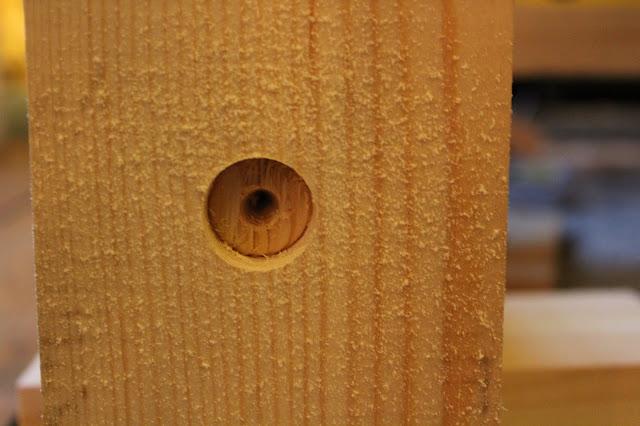 Flat-Bit in Wood