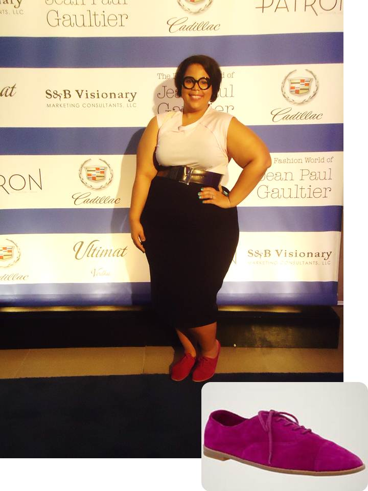 Jean Paul Gaultier, Talbots, H&M, Plus size blog
