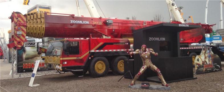 zoomlion qay260 all terrain crane