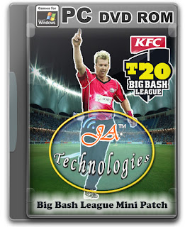 Big Bash League Mini-Patch Cover