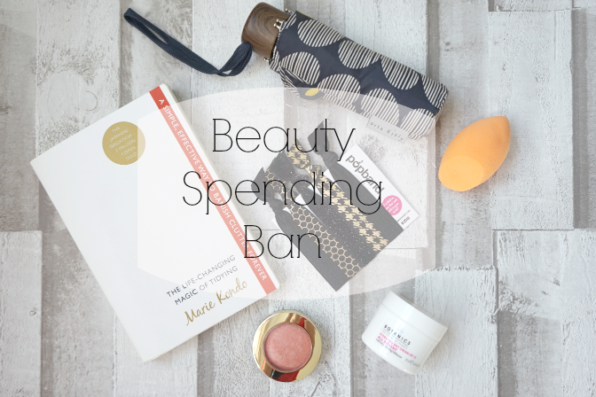Beauty Spending Ban