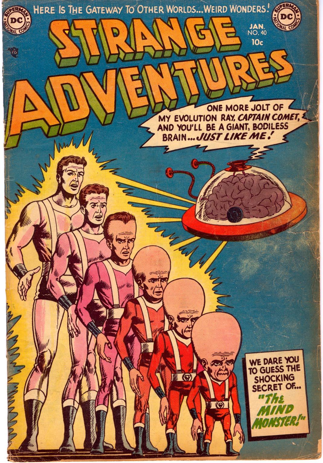 Strange Adventures (1950) 40 Page 1
