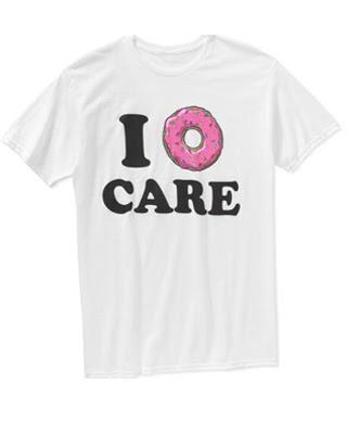 I Donut Care Tee White