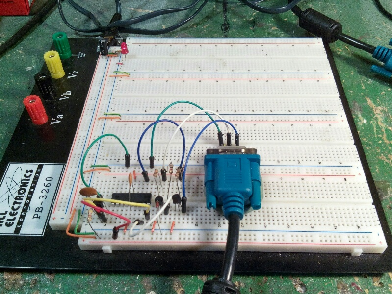 PIC Projects in Pascal 1-Wire -- DS18B20, Powered, Single-Drop