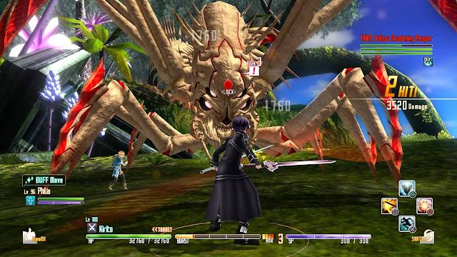 Sword Art Online Hollow Fragment PC Game Free Download Screenshot 3