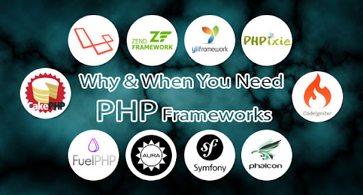 Why and When You Need PHP Frameworks
