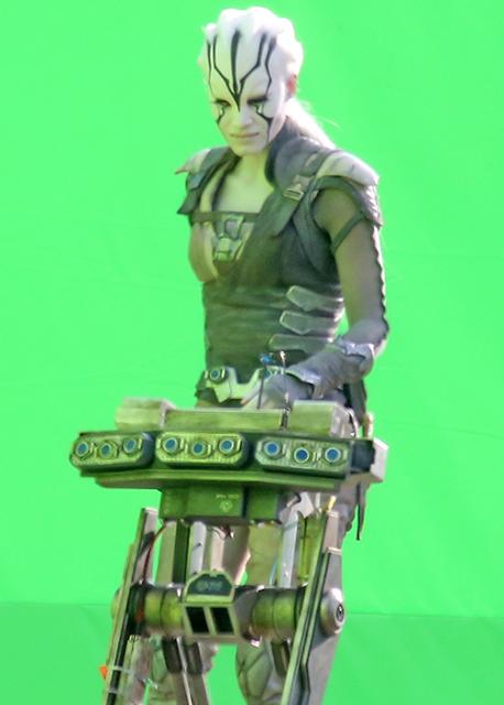 Primele imagini de la filmările producţiei Star Trek Beyond: Sofia Boutella