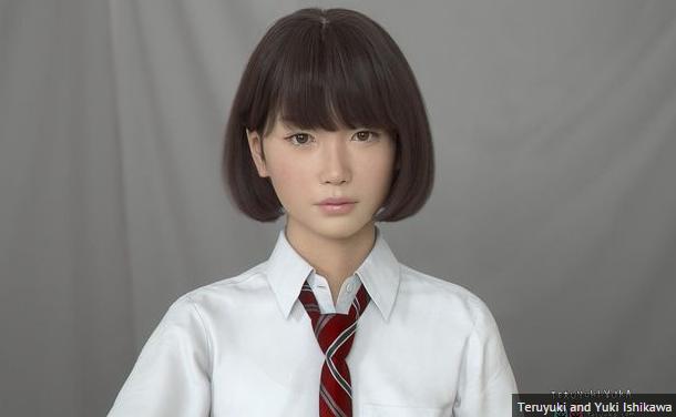 Saya, Gadis Sekolah Jepang