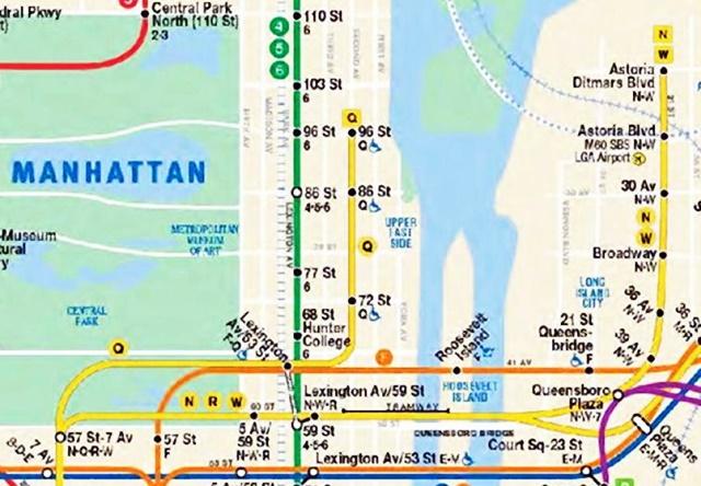 ニューヨークの地下鉄駅、もっと...