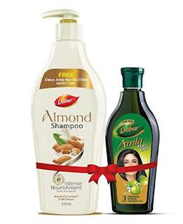 Combo Dabur Almond With Free Amla Hair Oil