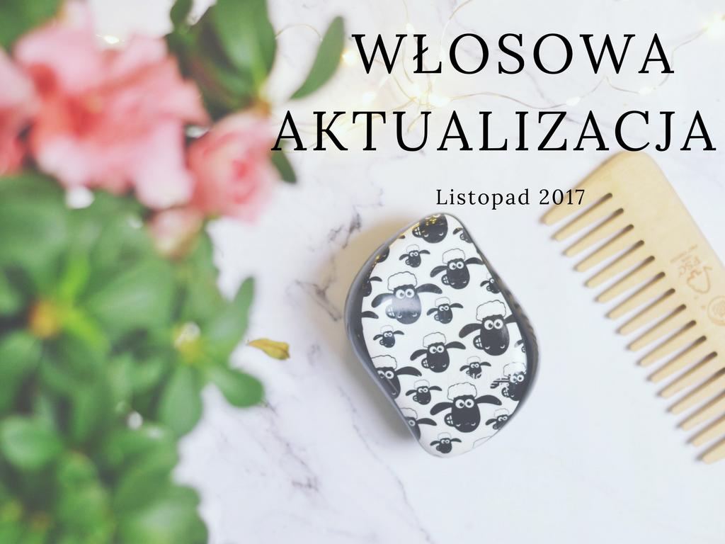 włosomaniaczki - włosowa aktualizacja listopad 2017