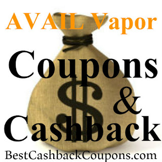 Get 10% off AVAIL Vapor today using coupon code, promo code and cashback for 2018-2019