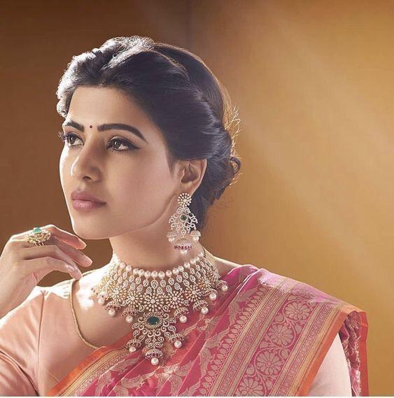 Samantha Akkineni Nac Jewellers Ads