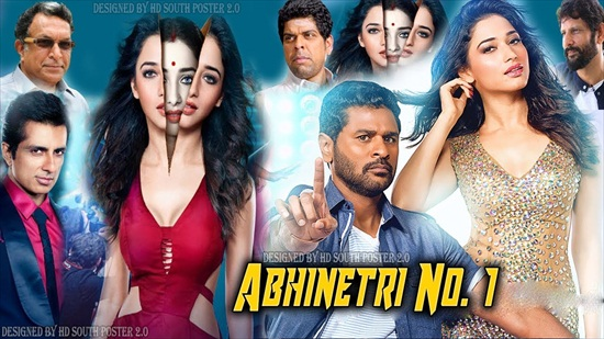 Abhinetri No 1 2018 Hindi Dubbed 800MB HDRip 720p