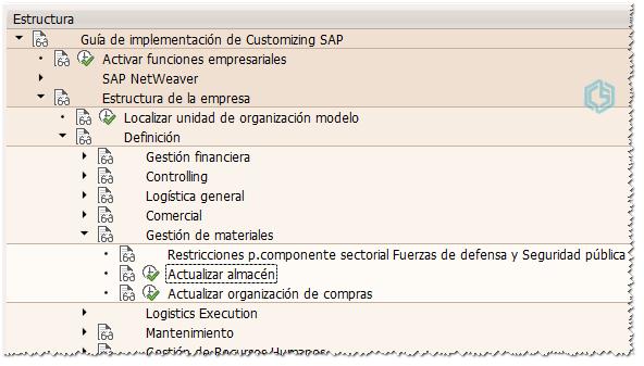 Gestionar almacén en SAP - Consultoria-SAP