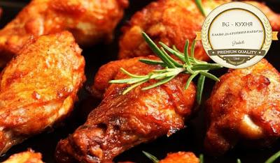 пилешки бутчета на тиган