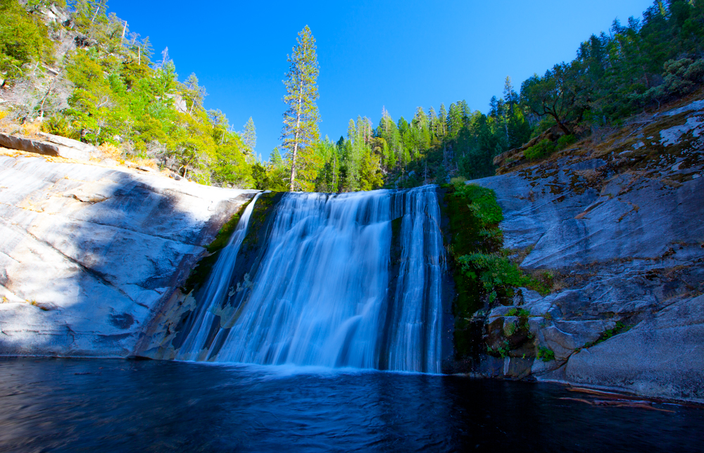 U Couch Swimming Holes Of California: Spectacular Seven Falls