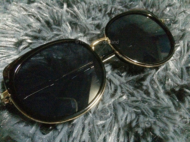 Metal Full Rims Cat Eye Affordable Polarized Sunglasses