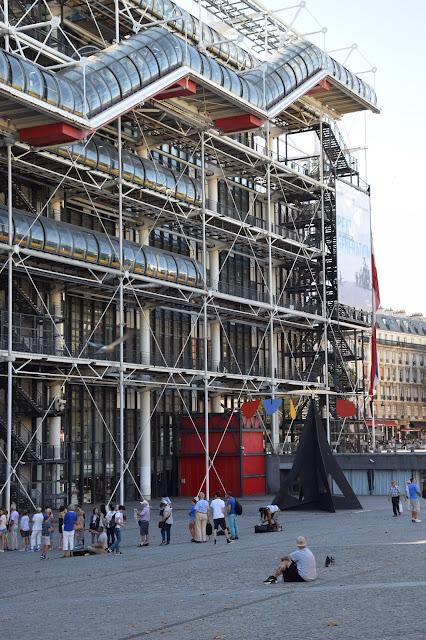 Paryż w pigułce #1 - Centre Pompidou - zdjęcie 4 - Francuski przy kawie